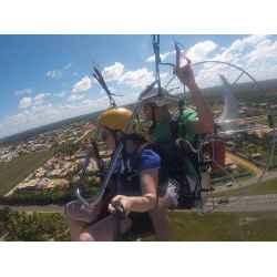 curso de paramotor no Topo do Mundo, Serra da Moeda