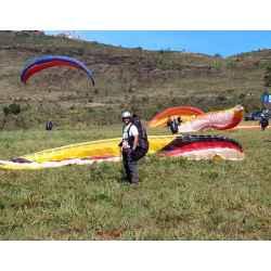 Curso de paraglider no Topo do Mundo, Serra da Moeda