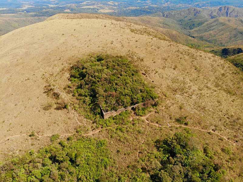 Ruinas do Forte de Brumadinho